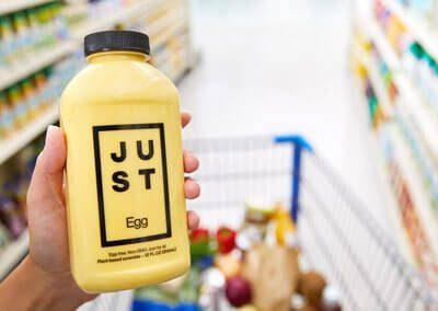 Veganes Ei aus der Flasche von Eat Just | Quelle: Eat Just Inc
